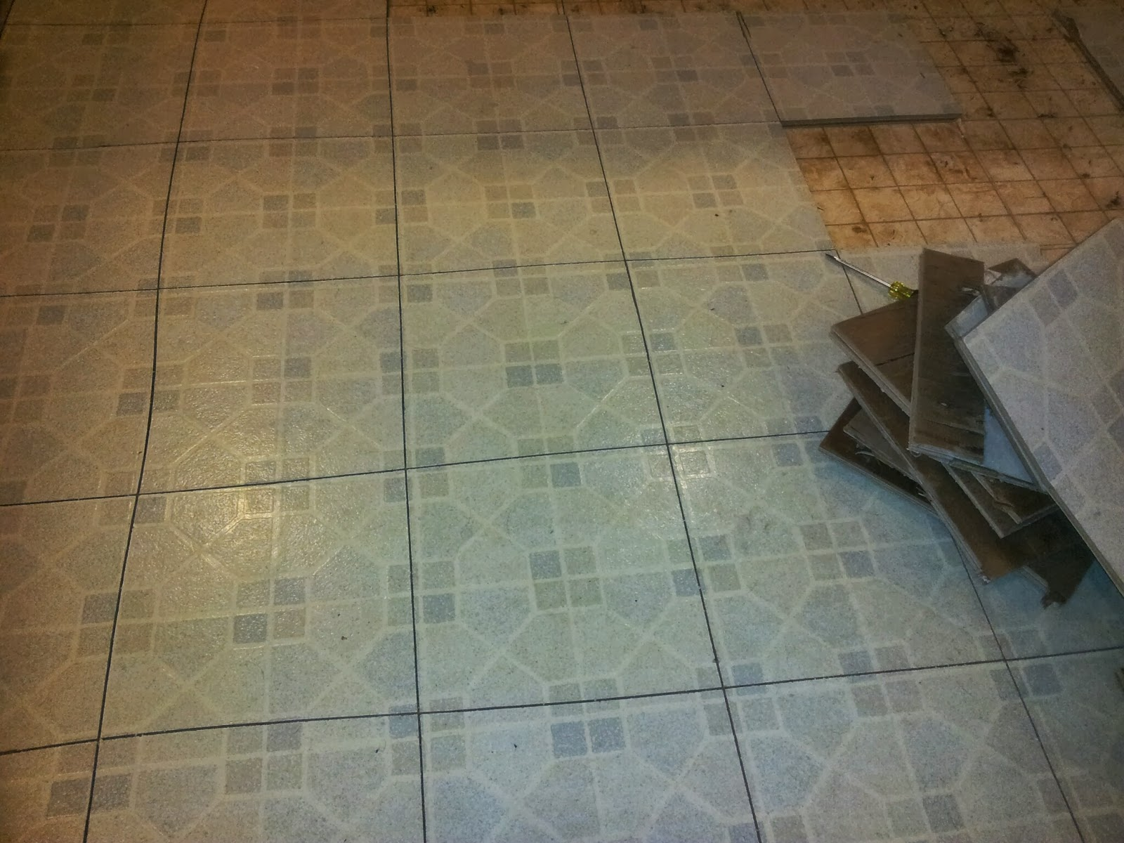 the demolition of our kitchen floor has linoleum kitchen flooring removing linoleum flooring