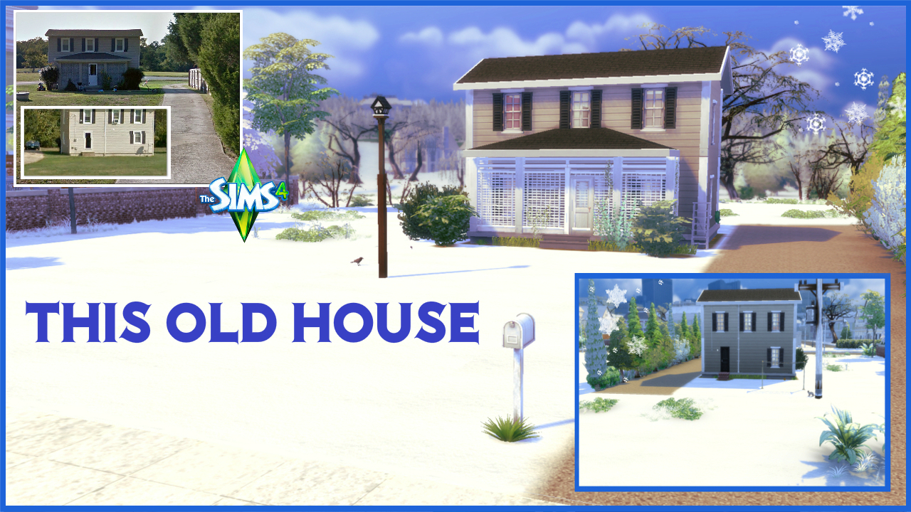 This old house the sims 4 download for Classic house sims 4