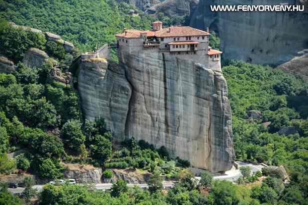 Meteorai kolostorok, Görögország