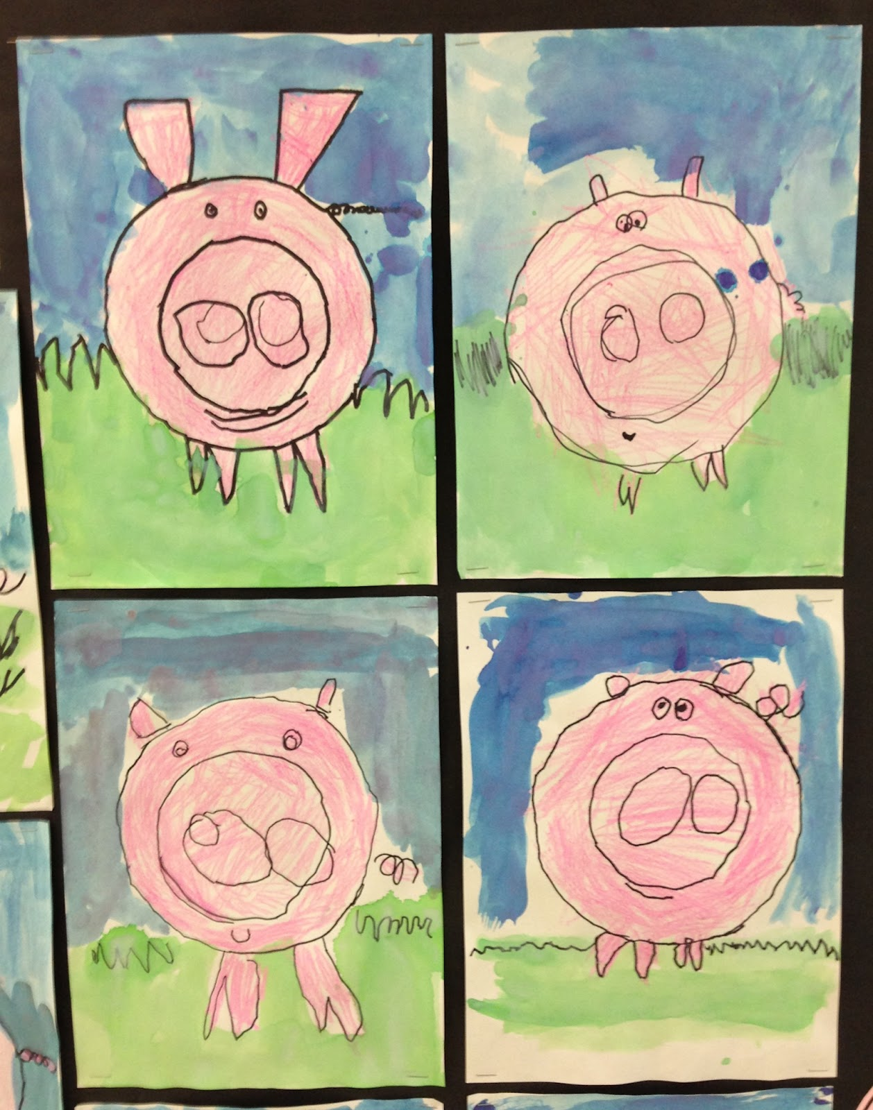 Apex Elementary Art This Little Piggy Went Wee Wee Wee