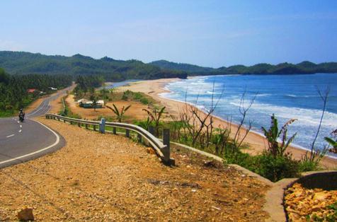 Tempat wisata pantai soge pacitan