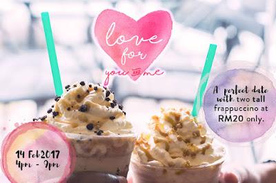 Starbucks Malaysia Frappuccino Discount Promo
