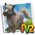FV 2 Mini Silver Dapple Horse   (baby ,adult,prized)