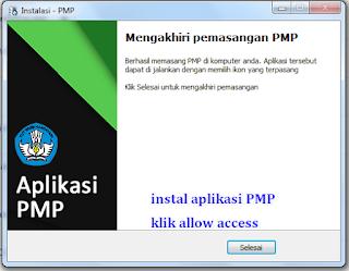cara instal aplikasi PMP SD SMA SMP