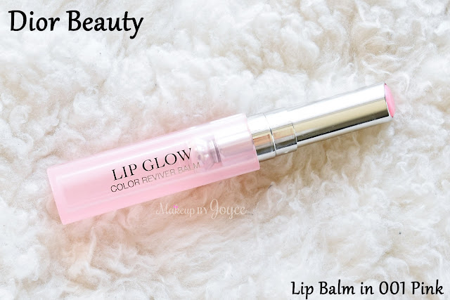 Dior Addict Lip Glow Color Reviver Balm in 001 Pink Swatch Review