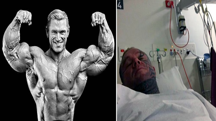 The Legendary Lee Priest in the Hospital