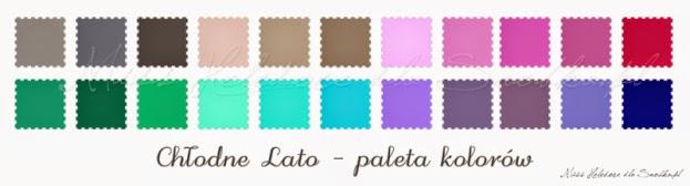 Analiza kolorystyczna - LATO