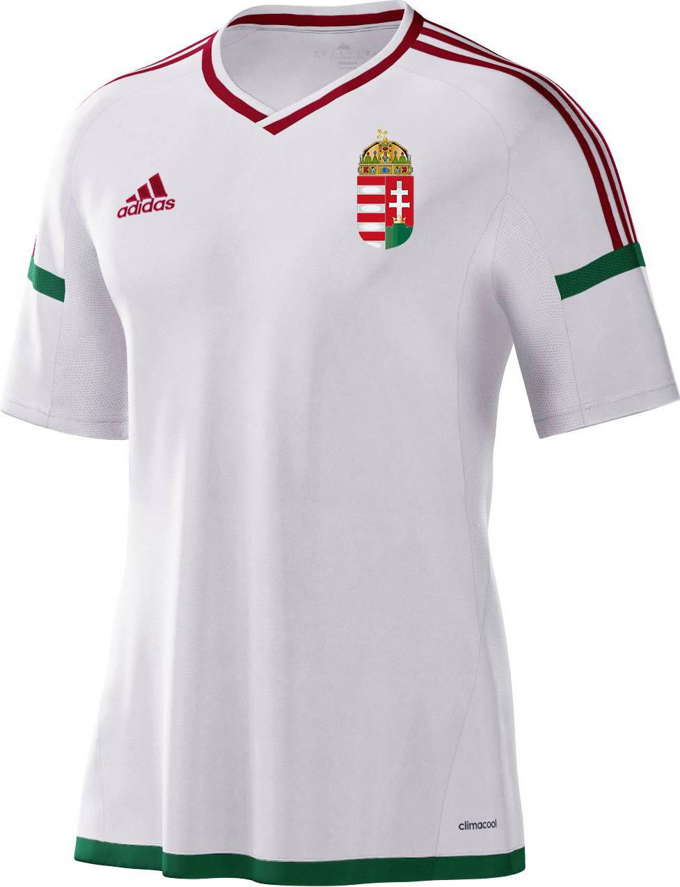 fb0d01dd0e2d0 Adidas apresenta as novas camisas da Hungria - Show de Camisas