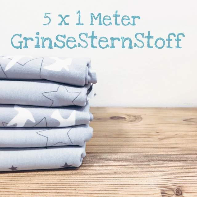 GrinseStern, Grinsestern goes Innsbruck, Innsbruck Stoffladen, GrinseStern # 2
