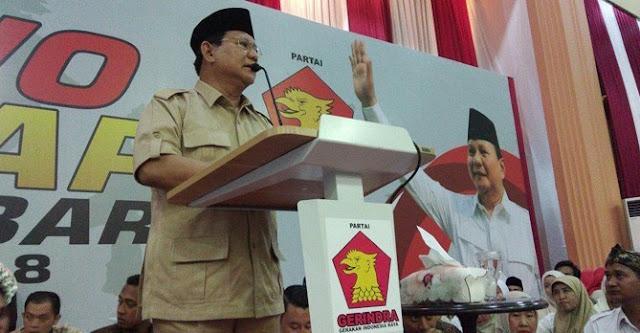 Prabowo Capres, Gatot Nurmantyo?