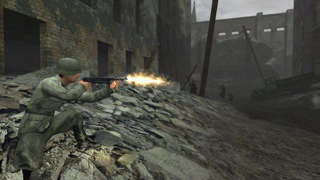 تحميل : لعبة Call Of Duty 2 بحجم [ 2GB ] كاملة الان  تورنت  للتدوين فنون