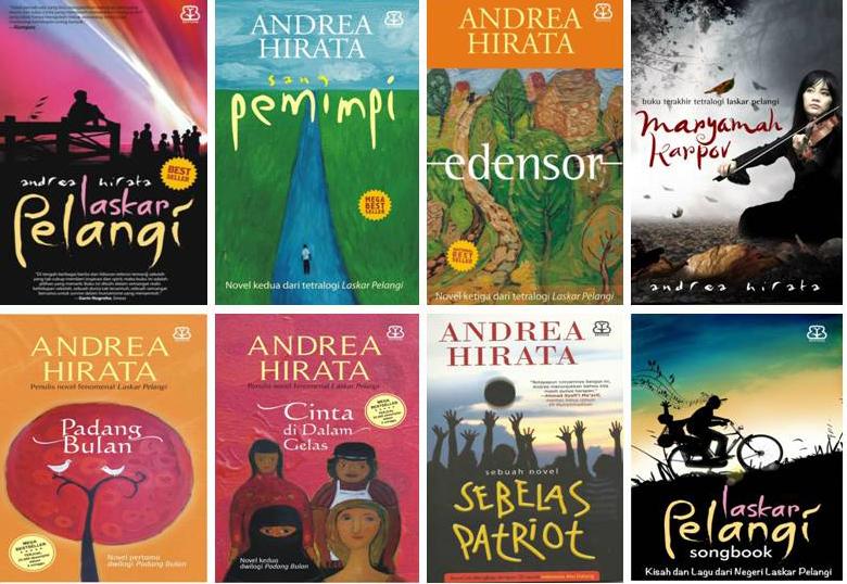 Daftar Novel Karya Andrea Hirata dan Penghargaan yang Diraih