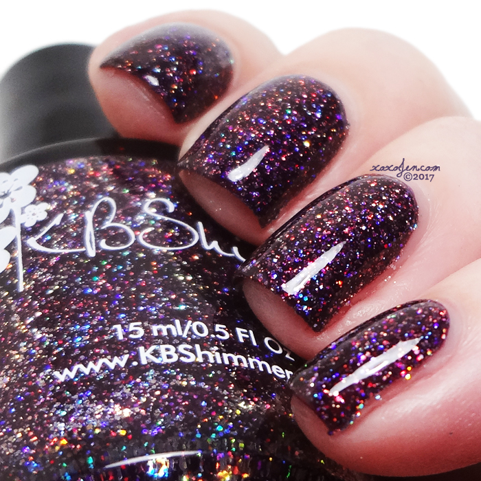xoxoJen's swatch of KBShimmer Lady and the Vamp