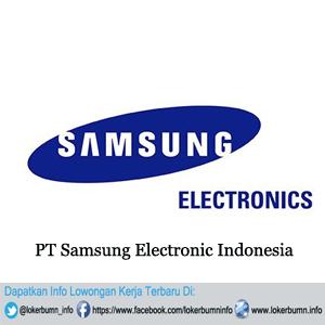 Lowongan kerja terbaru PT Samsung Electronic Indonesia 2016 untuk wilayah DKI Jakarta