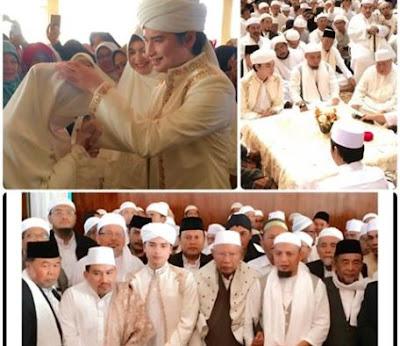 Ini Nasehat Ustaz Arifin Ilham untuk Anaknya yang Nikah Muda