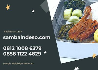 harga paket nasi kotak  terenak daerah Tangerang Selatan