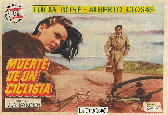 Programa de Cine - Muerte de un Ciclista - Lucia Bosé - Alberto Closas