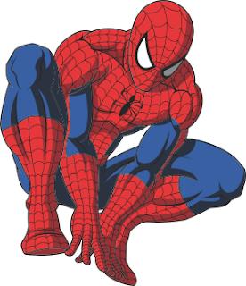 vetor homem aranha grátis
