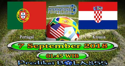 Prediksi Bola855 Portugal vs Croatia 7 September 2018