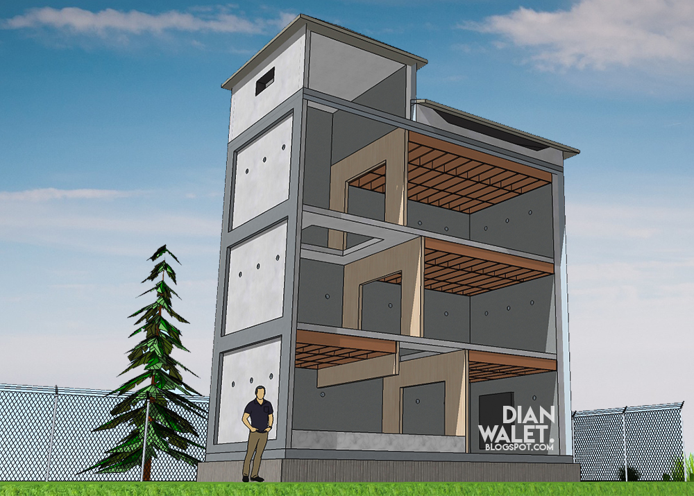 Gambar Desain Rumah Walet Sederhana