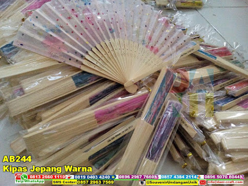 jual Kipas Jepang Warna
