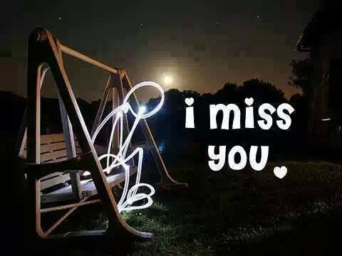 I Love you and I Miss You wallpaper night seen Rainy day