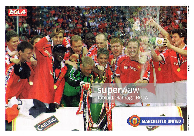 MANCHESTER UNITED CARLING CHAMPIONS 1998-99
