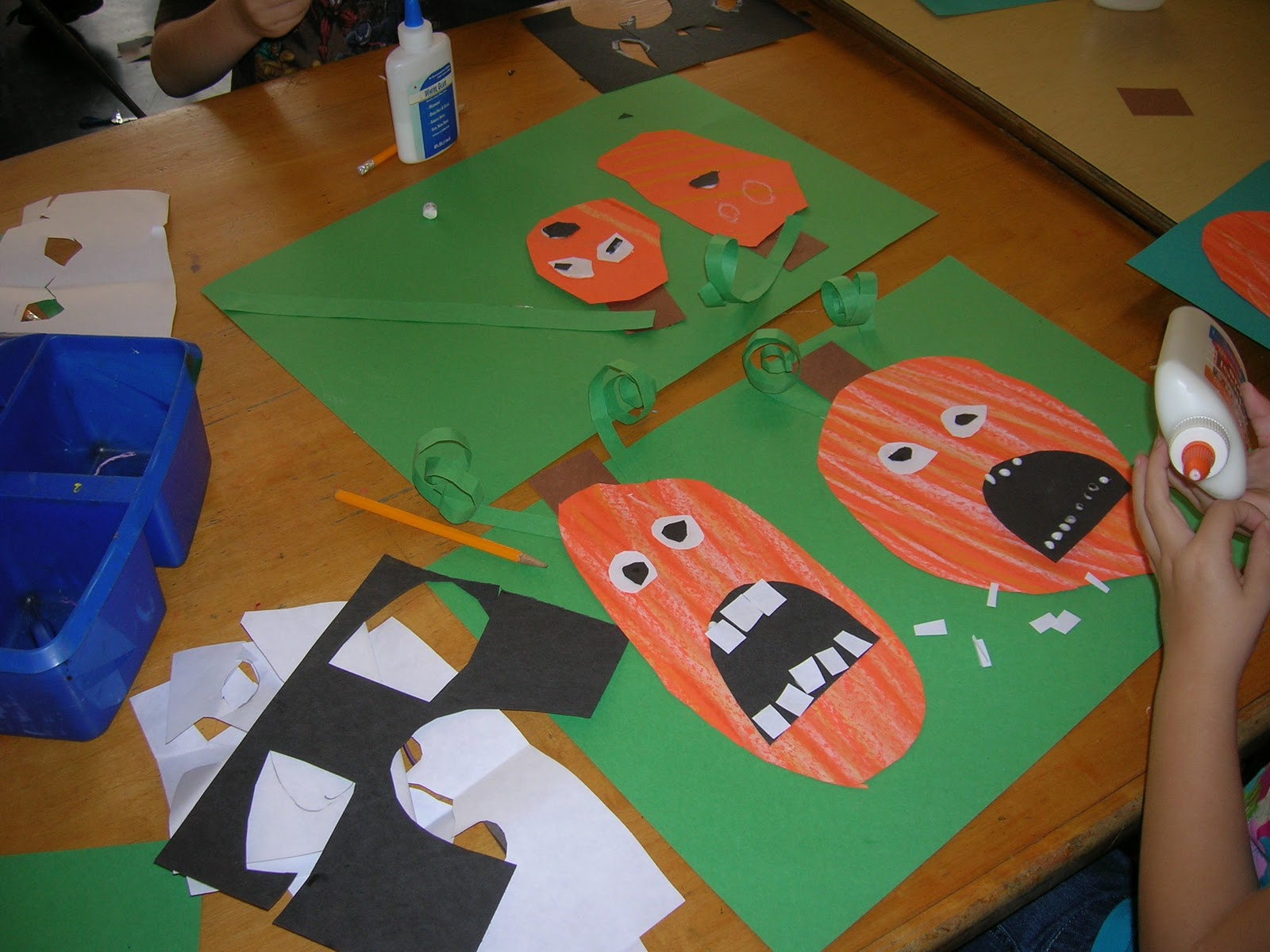 The Elementary Art Room Silly Pumpkins