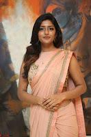 Eesha Rebba in beautiful peach saree at Darshakudu pre release ~  Exclusive Celebrities Galleries 008.JPG