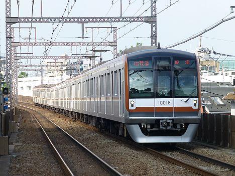 【Fライナーに伴い消滅!】東京メトロ10000系の東急東横線 特急 飯能行き