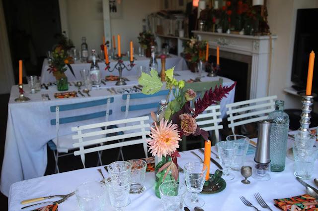 the room British Organic Carrot supper club Pic: Kerstin Rodgers/msmarmitelover.com