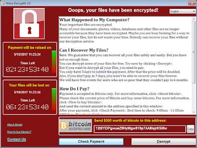 wana decrypt0r 2 0 - Attenzione ai cloni di Wannacry: già 4 ransomware identici individuati (Aggiornato)