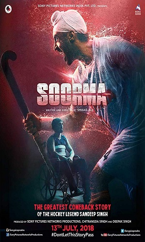 Soorma (2018) Hindi 720p Bluray 1GB