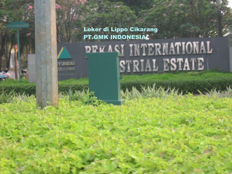 Info lowongan kerja PT.GMK Indonesia Daerah Cikarang Selatan