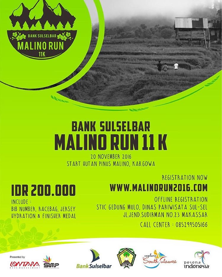 Bank Sulselbar Malino Run 11 KM