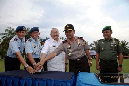 Gubernur Alex Noerdin Hadiri Pergantian Nama Baru Lanud Palembang