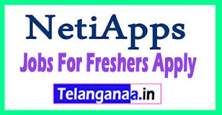NetiApps Recruitment 2017 Jobs For Freshers Apply