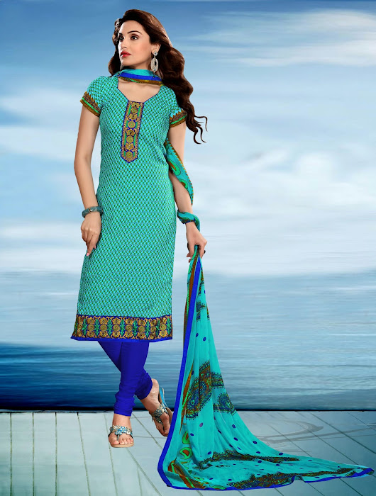Some Popular Styles of Embroidered Salwar Kameez in India