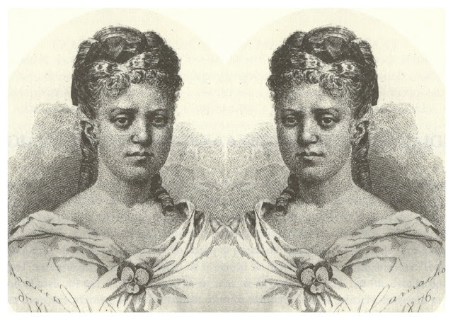 Grabado publicado en su poemario Ecos del alma (1876)