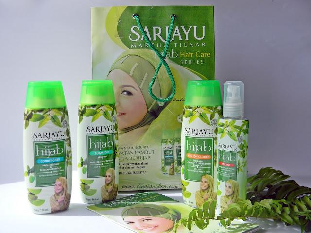 Sariayu Hijab hair care series , produk gartis dari Yukcoba.in (Review)
