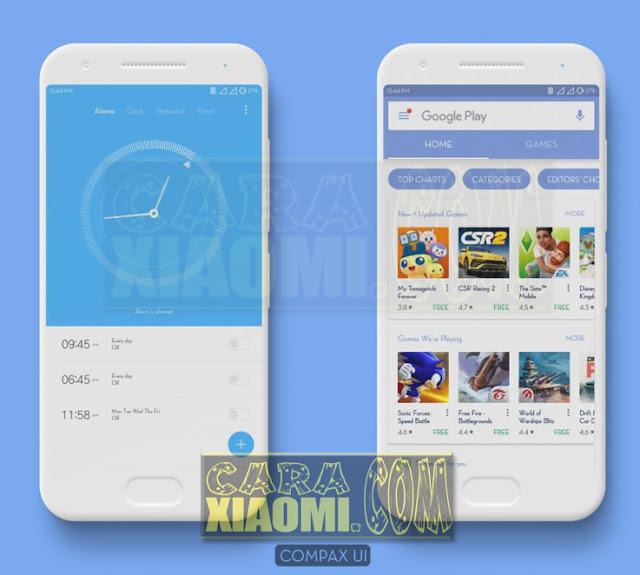 Download Tema Untuk Xiaomi Terbaru Compax UI Mtz For Redmi V8 / V9 Theme