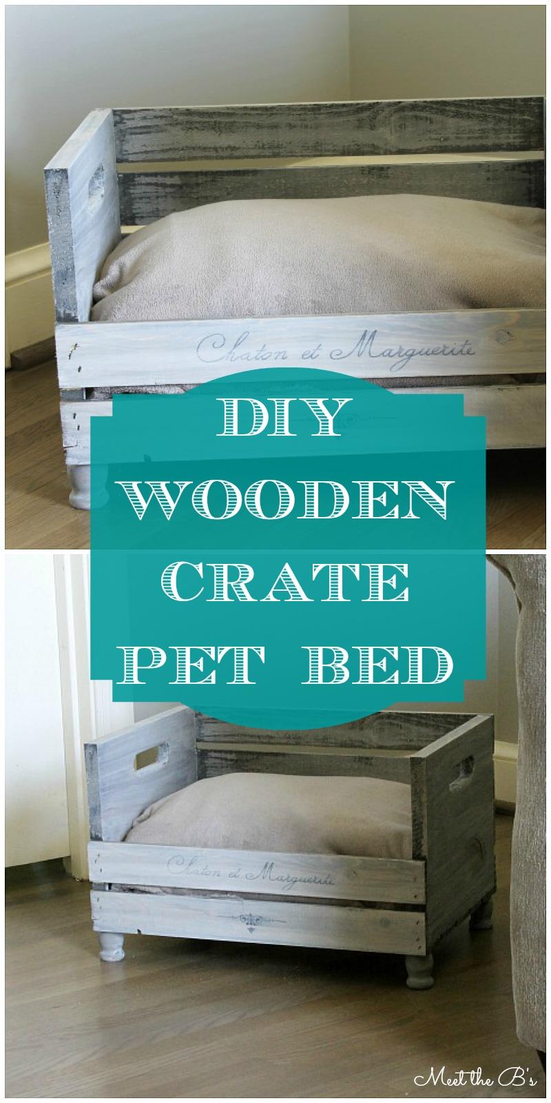diy beds for your loving pet friends mathwatson rh mathwatson com