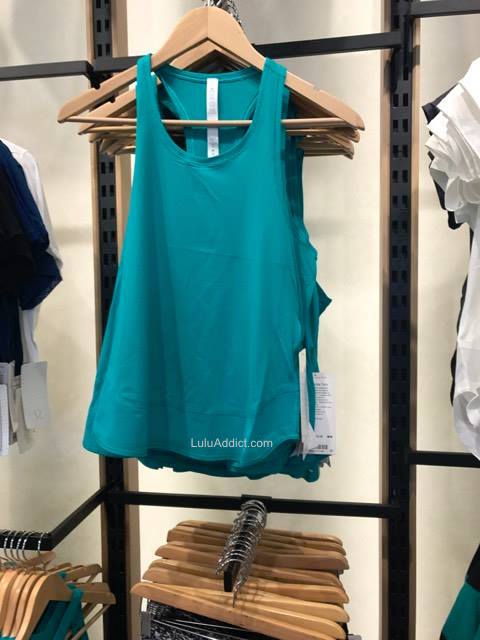 lululemon viridian-green smooth-stride-tank
