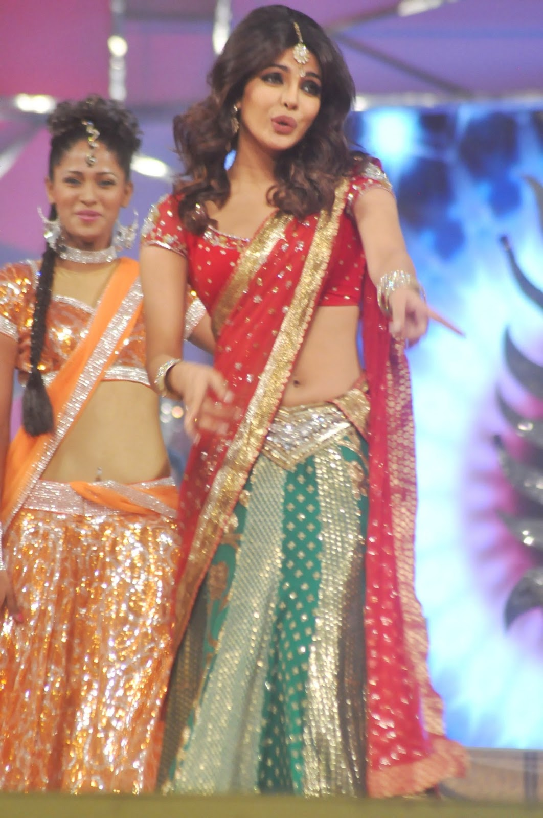 bollywood celebrities at mumbai police entertainment show