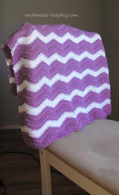 Free Ripple Baby Blanket Pattern