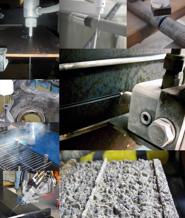 Механическая обработка твёрдых материалов струёй жидкого азота под высоким давлением