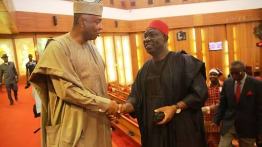 Presidency Secretly Plotting to Link Us With Daura & DSS Invasion - Saraki, Ekweremadu Raise Alarm