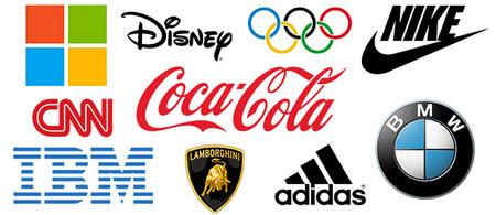 Các mẫu logo nổi tiếng - mẫu logo đẹp nhất thế giới