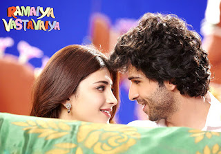 Shruti Hassan With Girish Kumar In Ramaiya Vastavaiya HD Photos