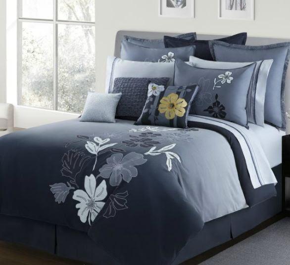 The Hawaiian Home Blog: Modern Style Tropical Comforter Set